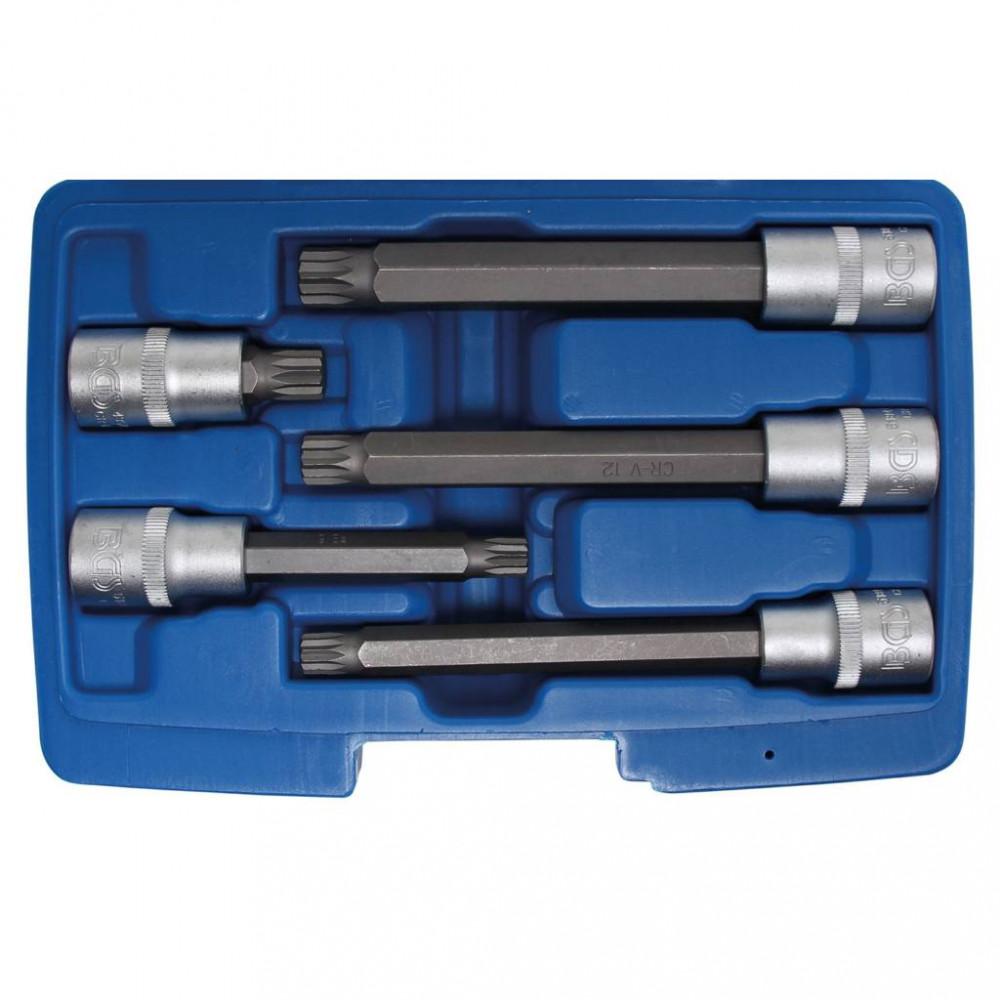 BGS technic Súprava nástrčných bitových hlavíc | vnútorný tisíchran (pre XZN) | 5 ks (BGS 8